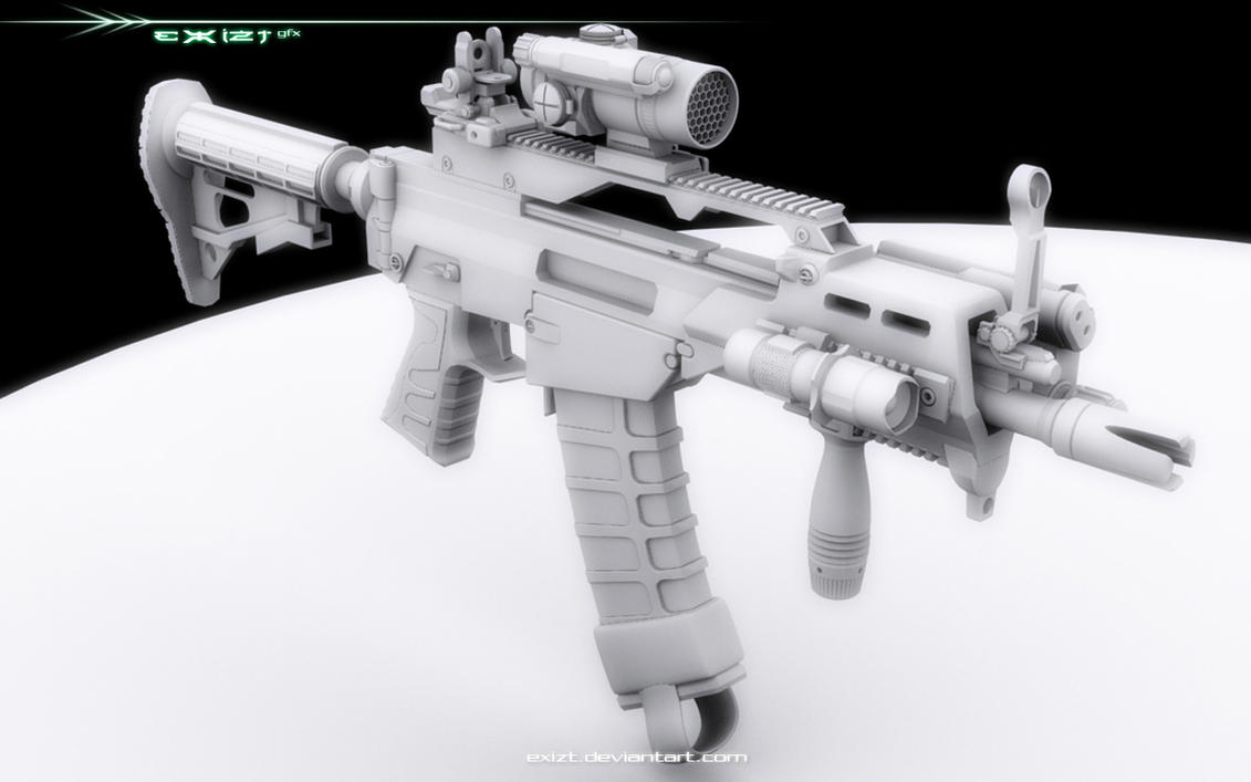 G36 CQC . eX-Mod . -r- by exizt