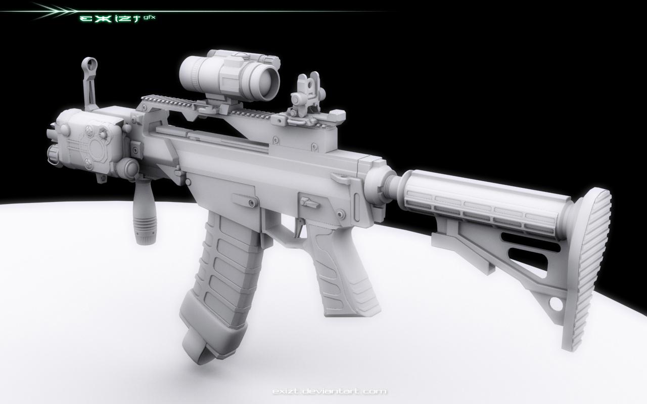 G36 CQC eX-Mod . -l- by exizt
