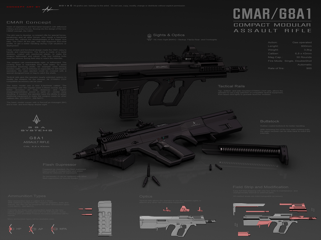 CMAR / G8A1 by exizt