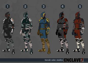 Enclave7 Karzak Color Studies
