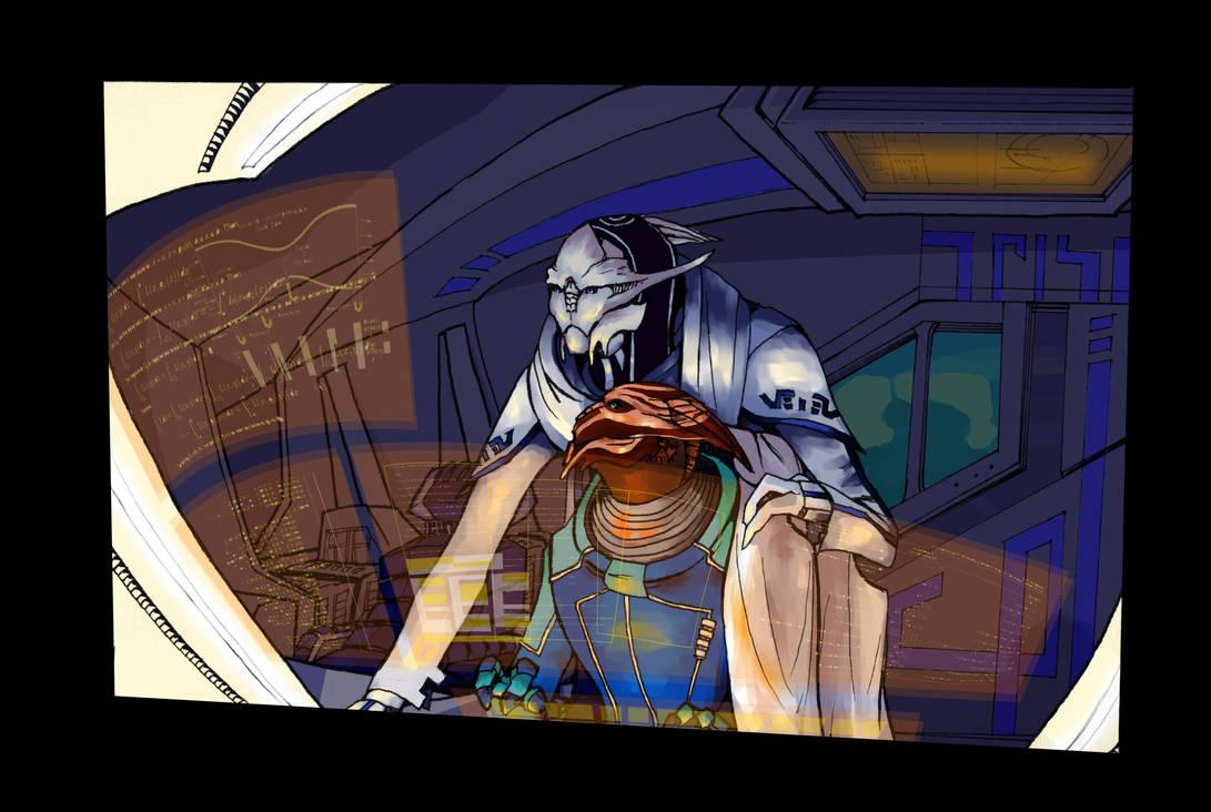 :Mass Effect: Four a.m. by Anjian