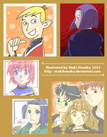 Recent Doodles Collection 5 by MakiHosaku