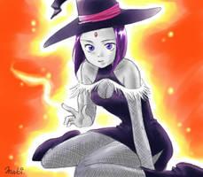 TT: Raven the Witch by MakiHosaku