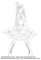 Commission: Hioko by MakiHosaku