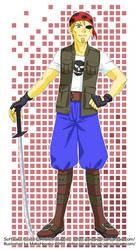 Commission: Software Pirate by MakiHosaku