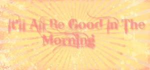 Interchangeable Morning