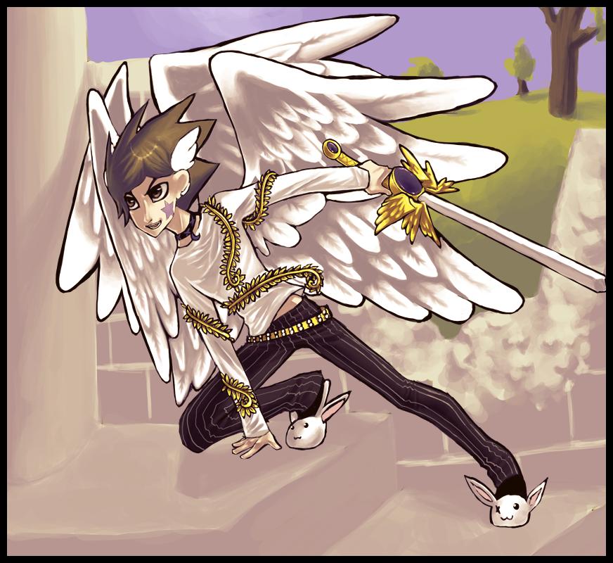 Azure Warrior by veriitus