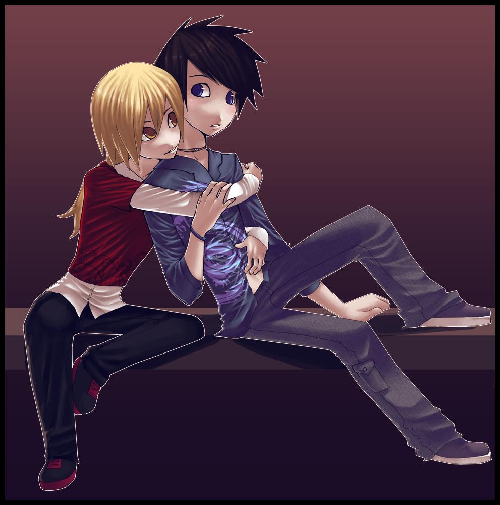 Rhys and Edric by veriitus