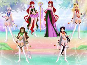 Sailor Iris and Constellations Final
