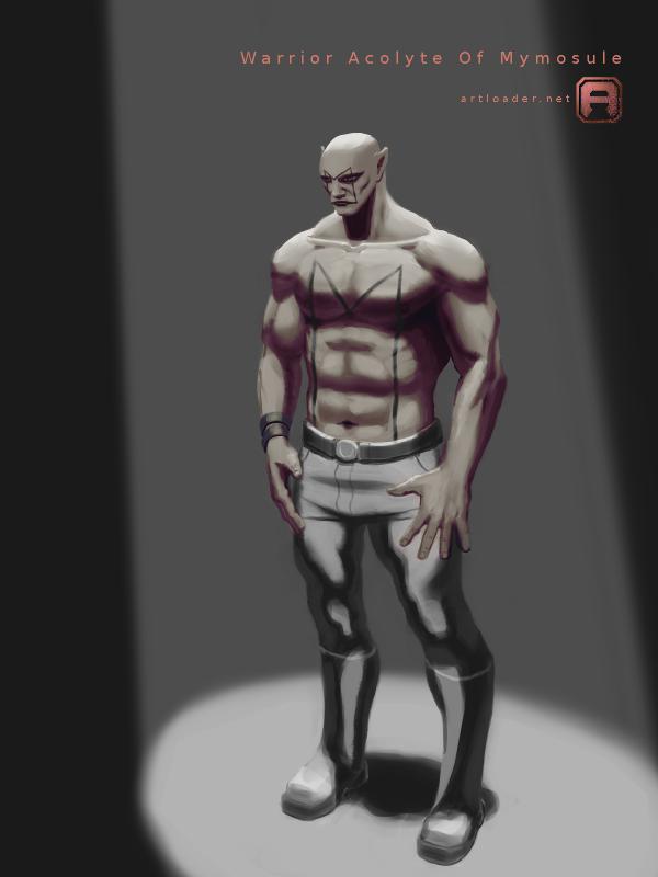 Warrior Acolyte by artloadernet