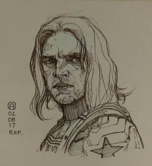 Winter Soldier sketch