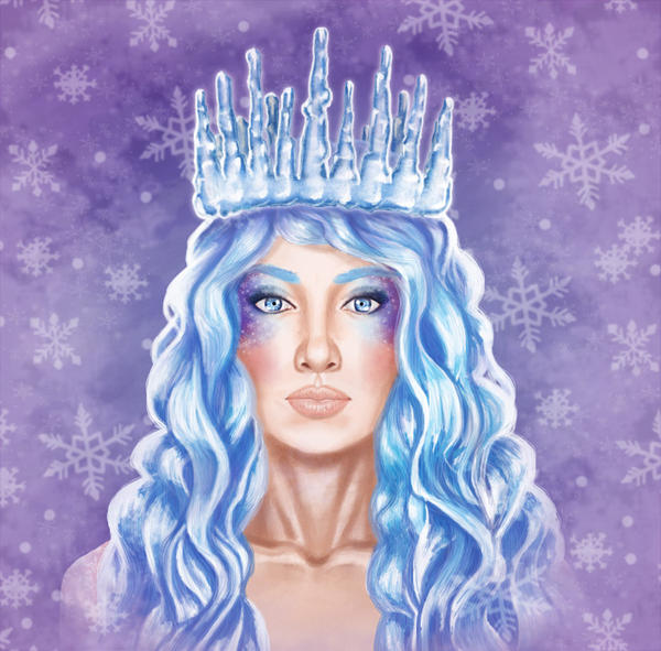 Ice Queen by alelilie
