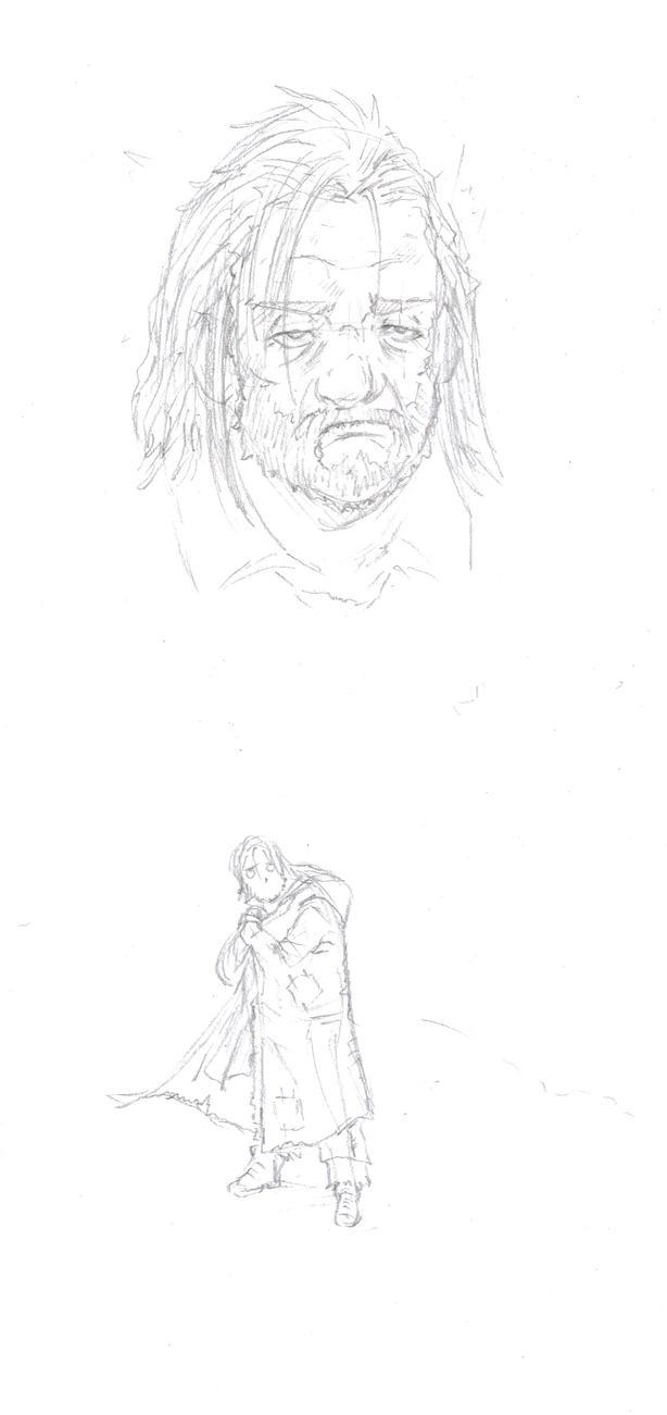 patchwork-sketch by Mark-Clark-II