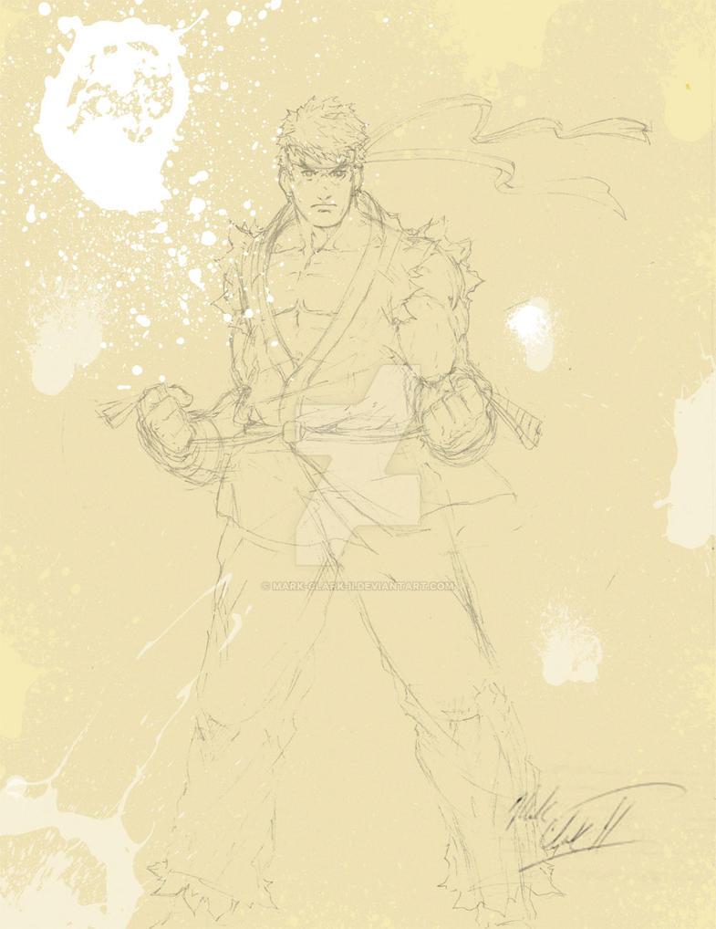 Ryu-Incomplete by Mark-Clark-II