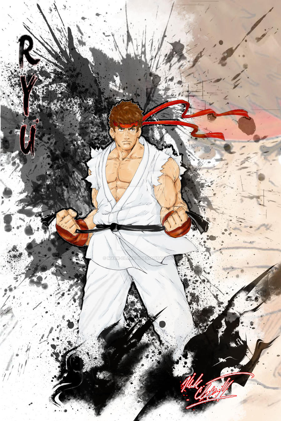SFIV-Ryu by Mark-Clark-II