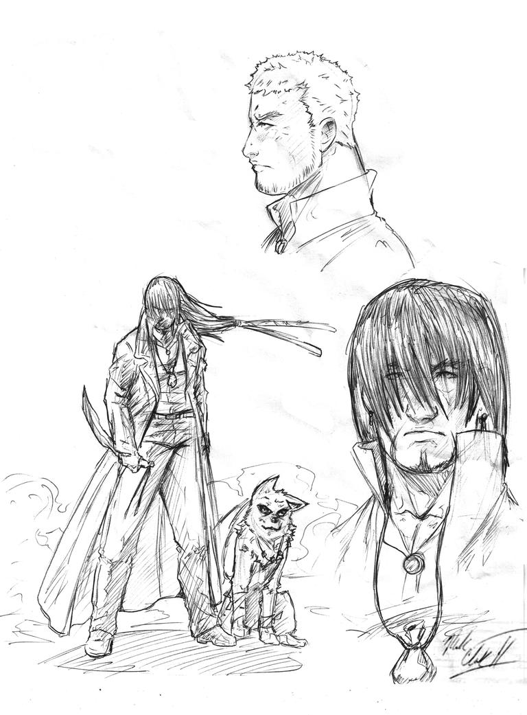 Sketches by Mark-Clark-II