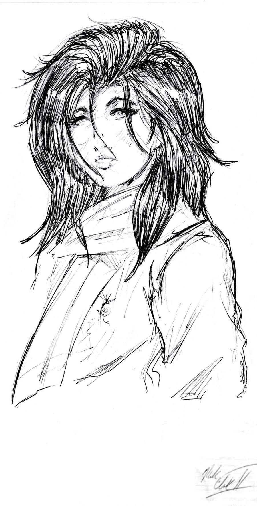 Sketch-Candid by Mark-Clark-II