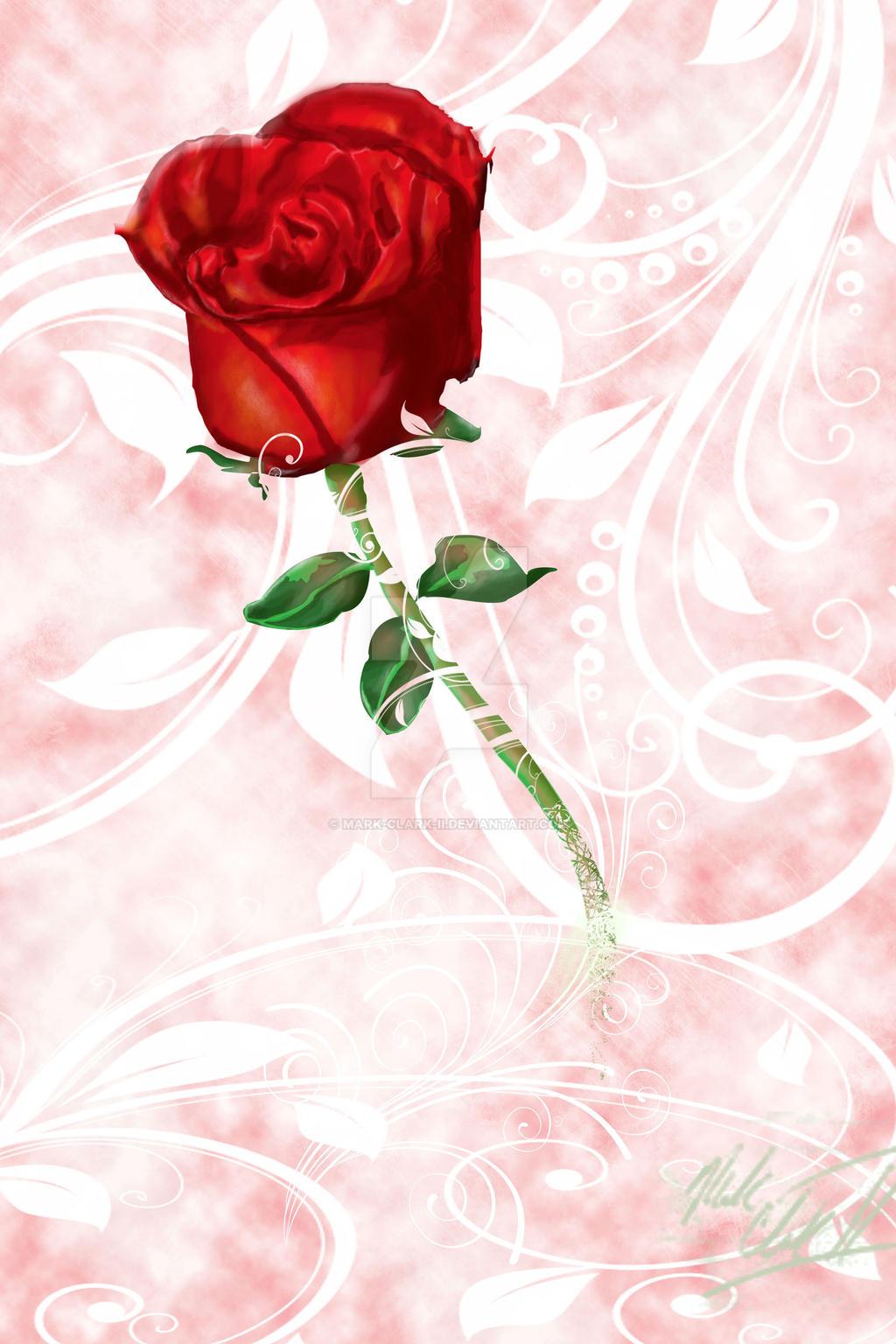 Rose by Mark-Clark-II