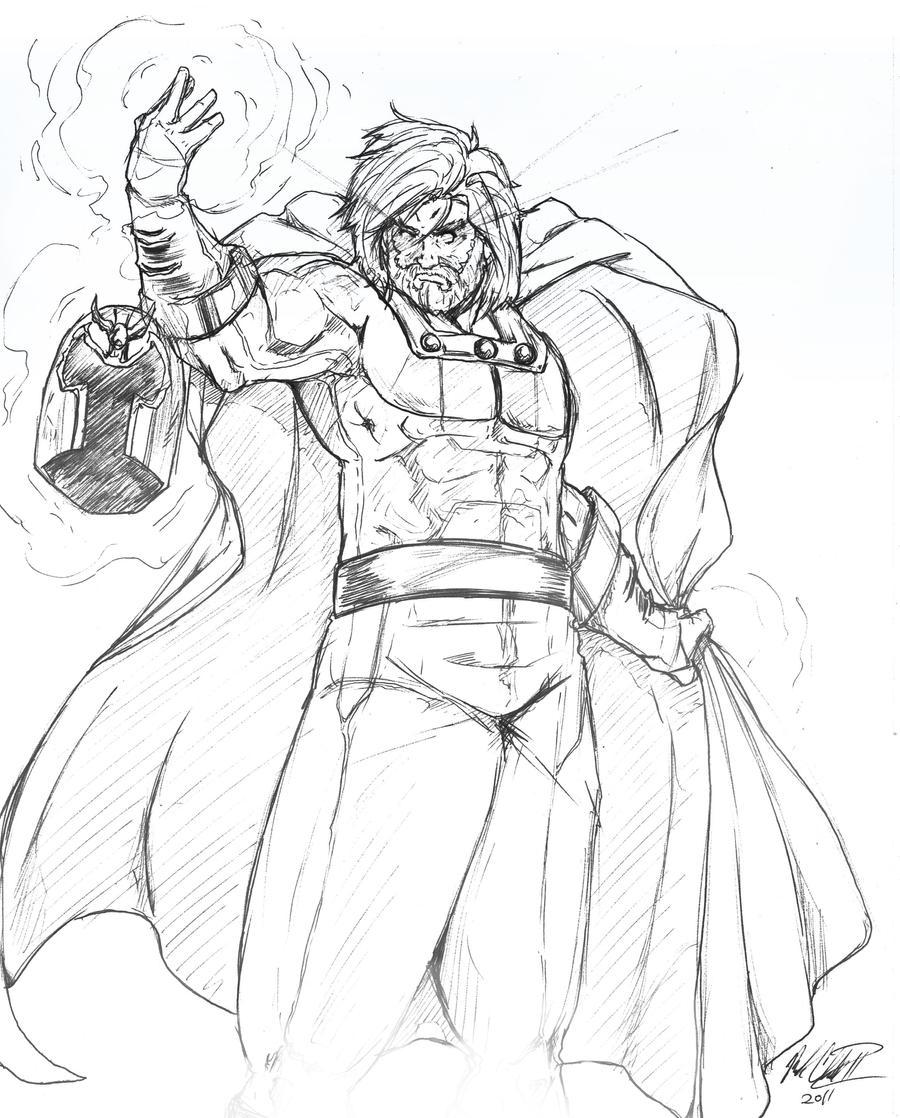 Sketch-MAgneto by Mark-Clark-II