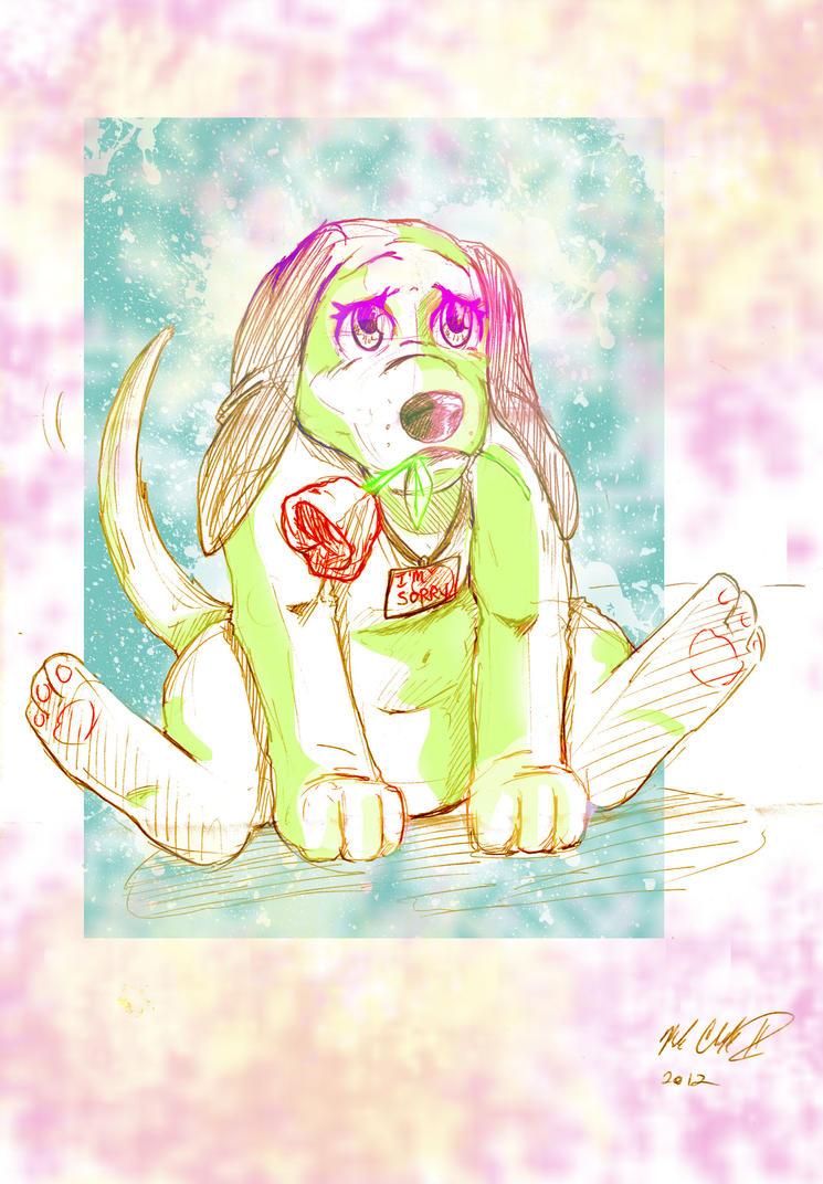 Aplogize Puppy by Mark-Clark-II