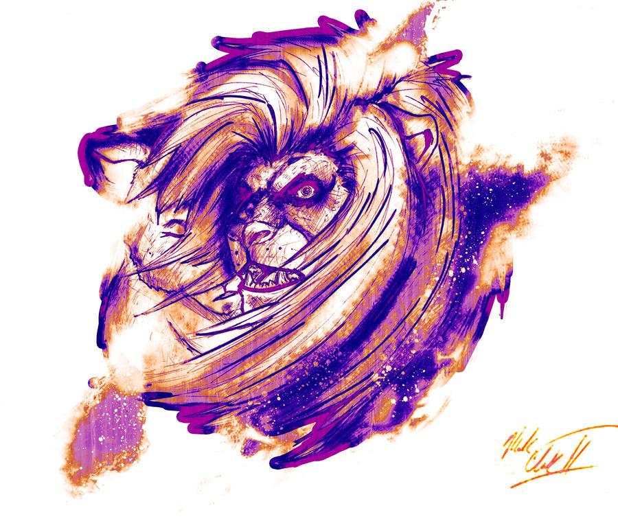 Lion design by Mark-Clark-II