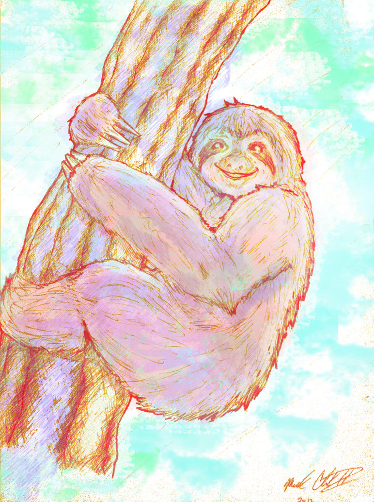 Sloth by Mark-Clark-II