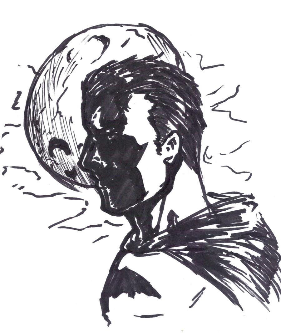 Napkin batman by Mark-Clark-II