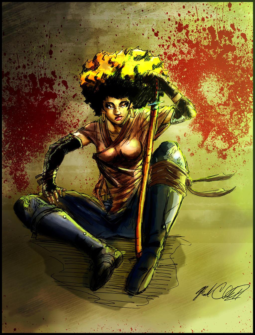 Ninja vixen by Mark-Clark-II