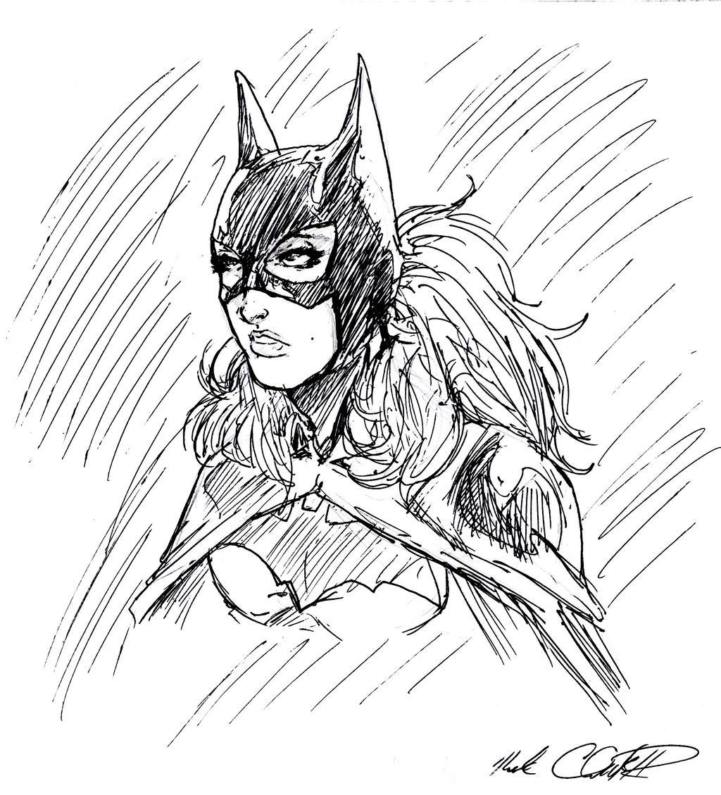 Batgirl in 8 min by Mark-Clark-II