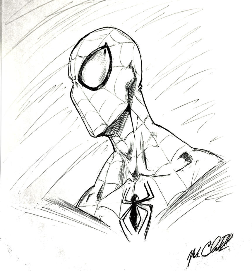 Amazing spider-man by Mark-Clark-II