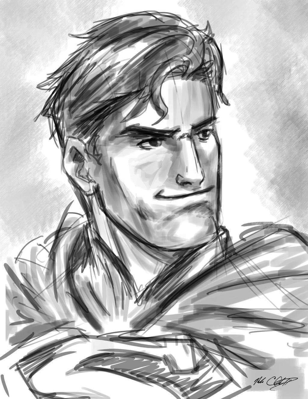 Superman 10min by Mark-Clark-II