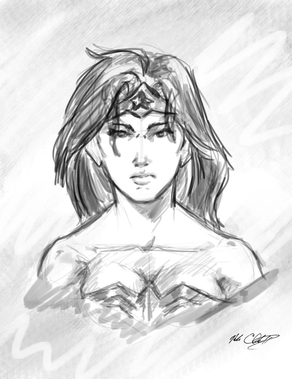 Wonderwoman10min by Mark-Clark-II