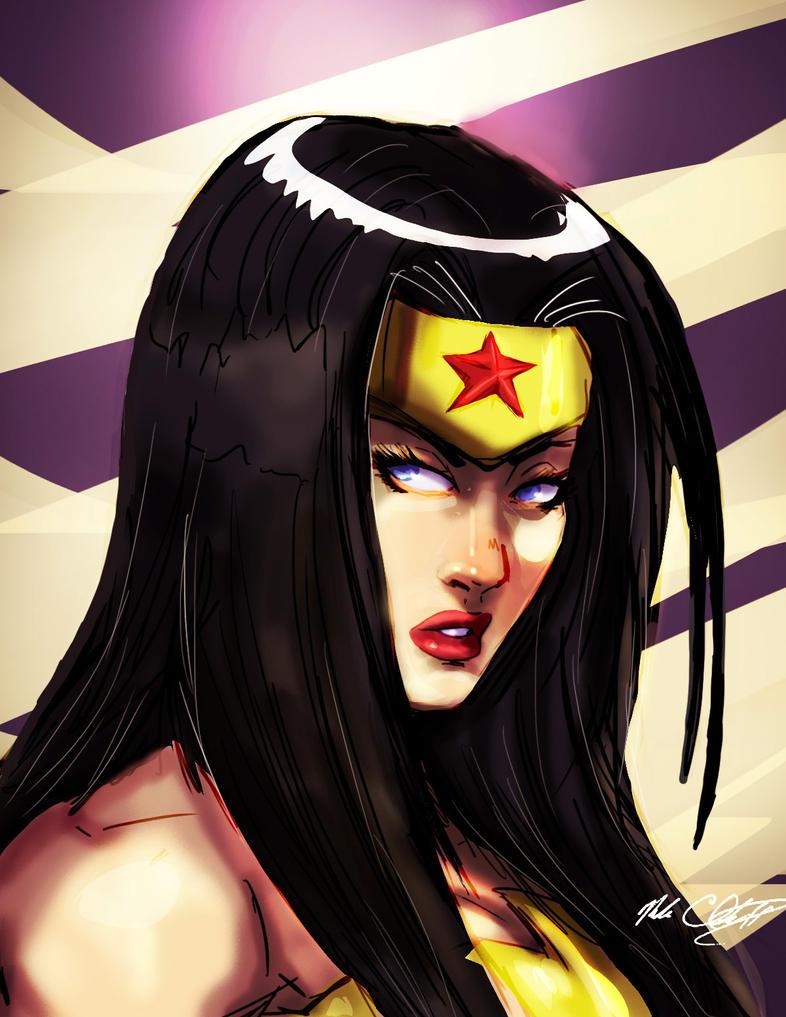 Wonder Woman Experiment by Mark-Clark-II