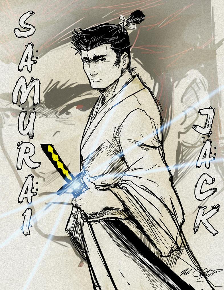 Samurai jack by Mark-Clark-II