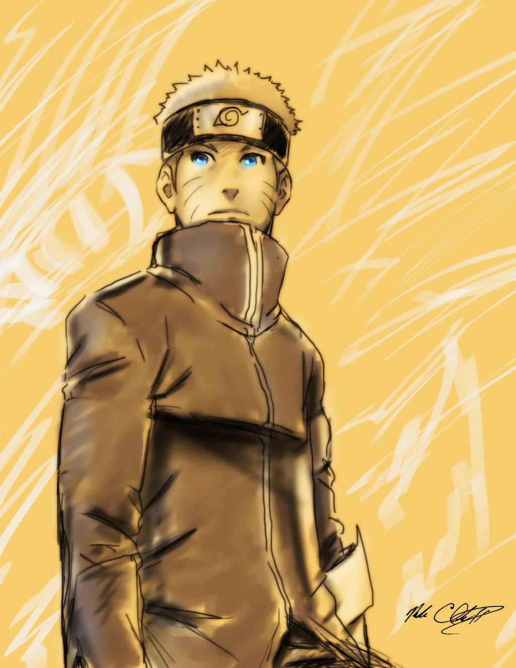 Naruto The Last Movie sketch by Mark-Clark-II