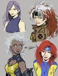 female X-men-concept sketch