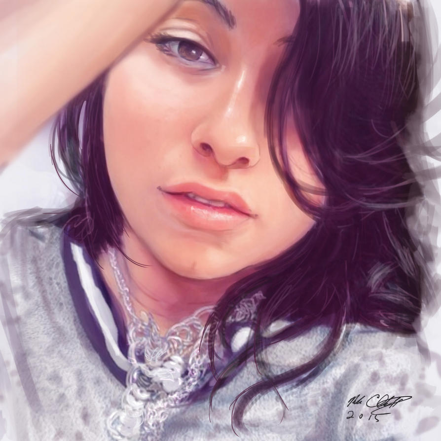 Portrait Study, Jesi by Mark-Clark-II