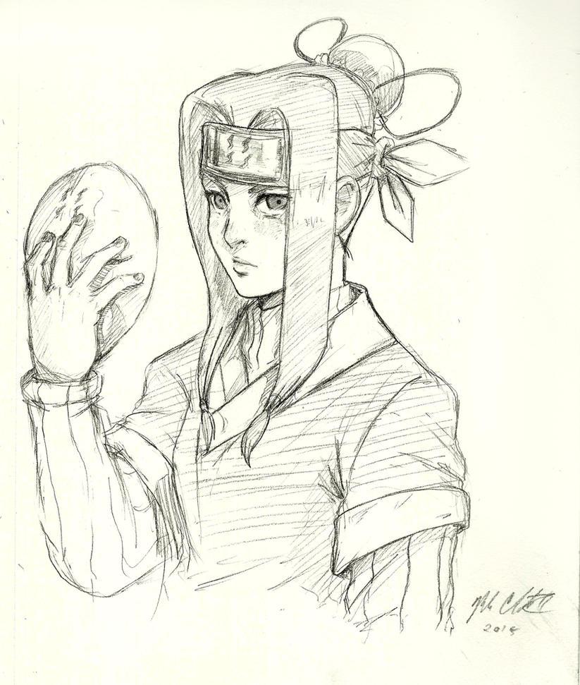 Haku-sketch by Mark-Clark-II