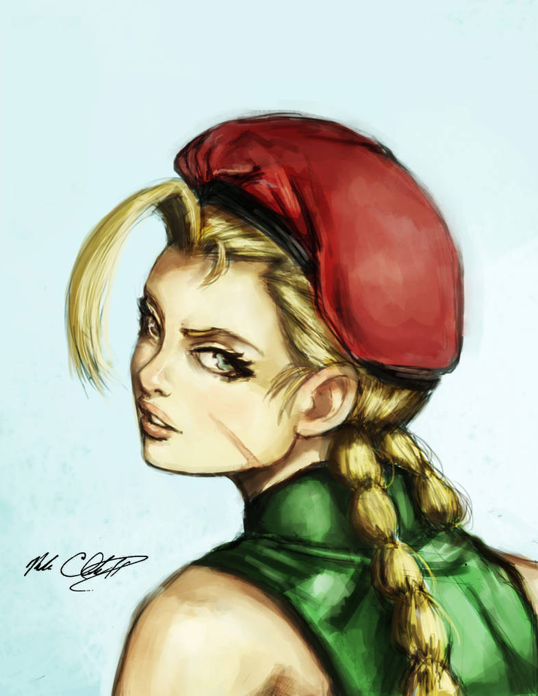 Cammy painting
