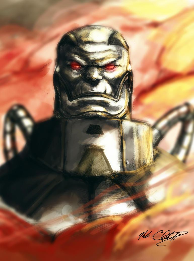 Apocalypse painting by Mark-Clark-II