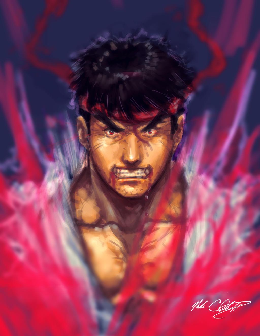 Ryu transforming plus video by Mark-Clark-II