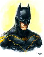 Bat Gordon by Mark-Clark-II