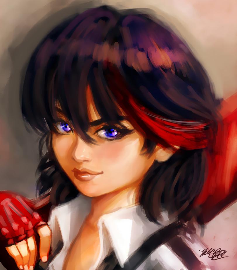 Ryuko by Mark-Clark-II