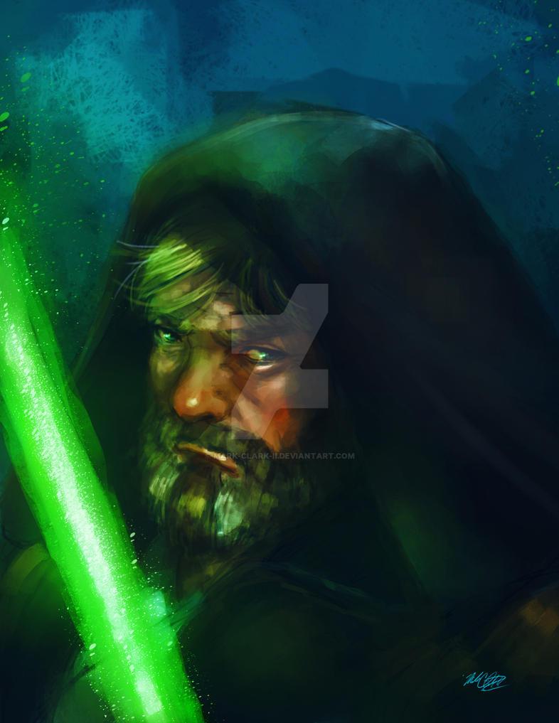 Luke skywalker by Mark-Clark-II