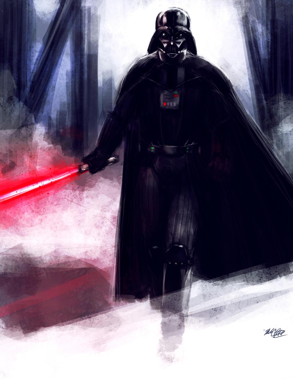Vader by Mark-Clark-II