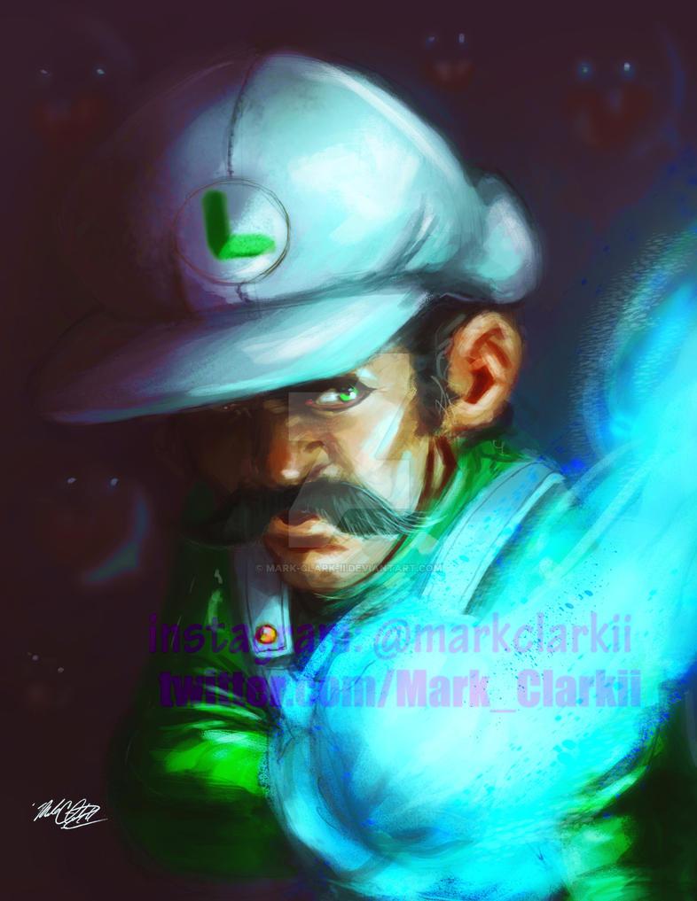 Super Luigi by Mark-Clark-II