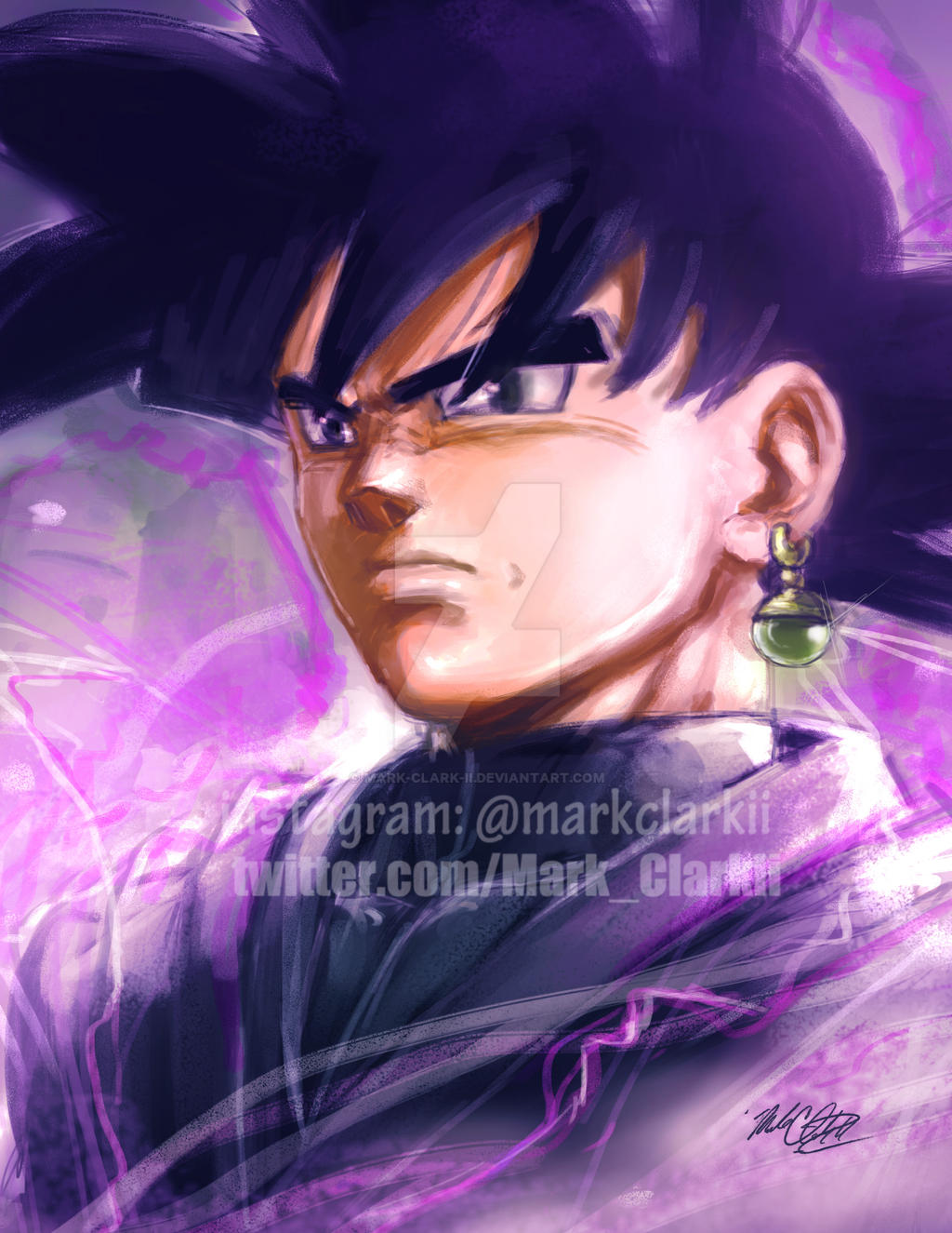 Goku black  Plus video by Mark-Clark-II