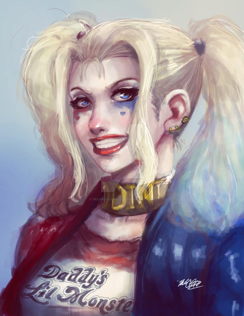 Suicide Squad Harley by Mark-Clark-II