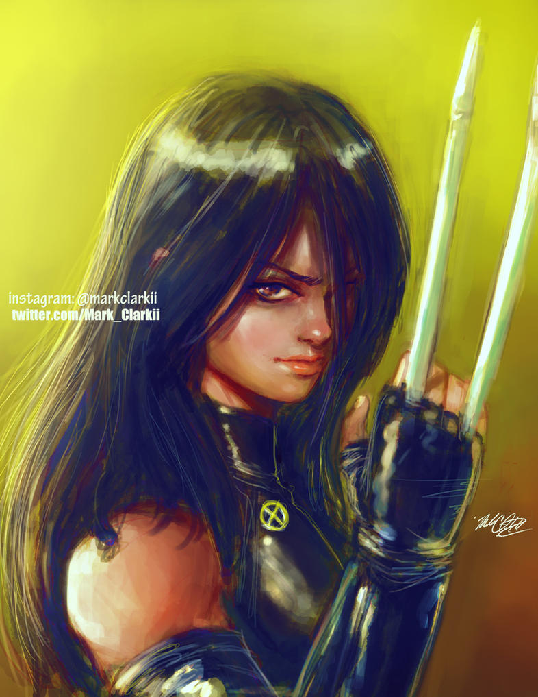 X23 painting by Mark-Clark-II