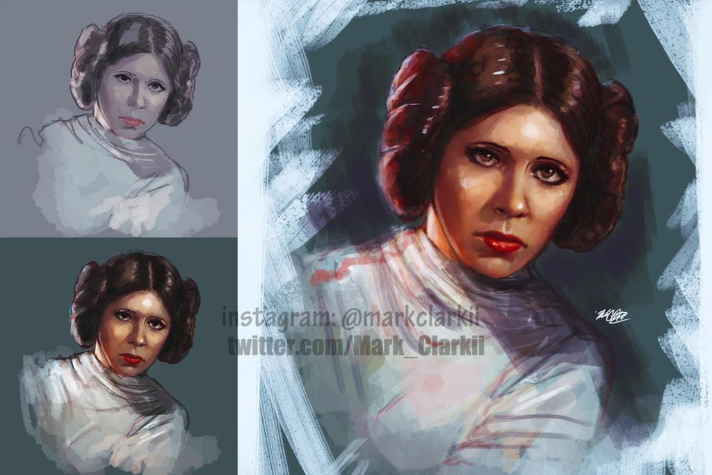 Princess Leia by Mark-Clark-II